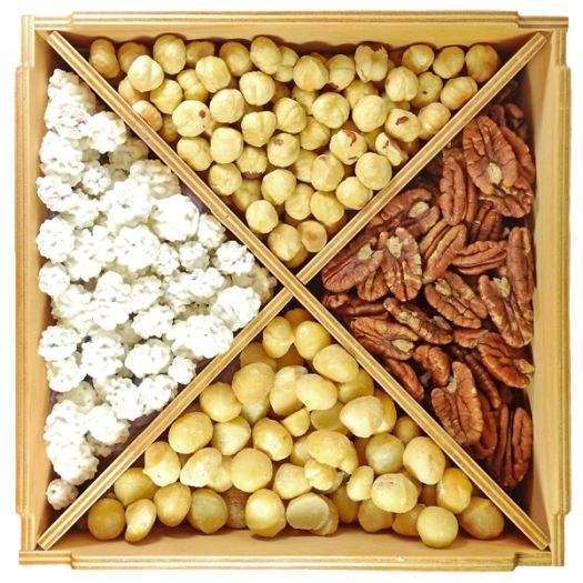 Ореховый набор De Luxe Star: фото 2 - FreshMart