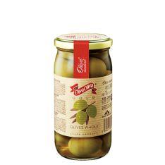 Оливки Diva Oliva Gold зелені з кісточкою 370мл - FreshMart