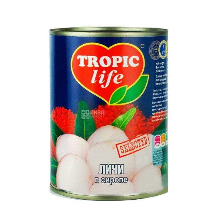 Личи Tropic Life в сиропе 580мл  - FreshMart