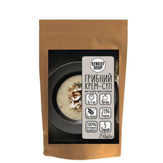 Крем-суп Street Soup грибной 250г - FreshMart