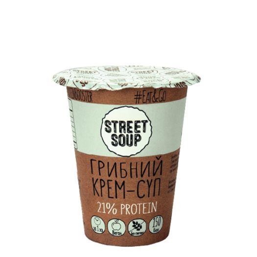 Крем-суп Street Soup грибний 50г - FreshMart