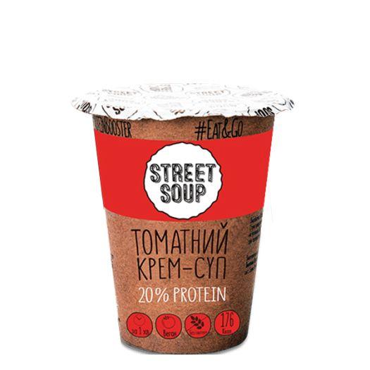 Крем-суп Street Soup томатный 50г - FreshMart