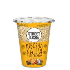 Каша овсяная Street Kasha с апельсином 50г - FreshMart