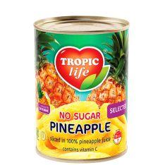 Ананас Tropic Life кільцями у власному соку 580мл  - FreshMart