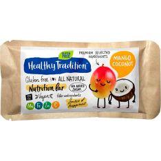 Питательный батончик Healthy Tradition Nutrition Bar манго и кокос 34г - FreshMart