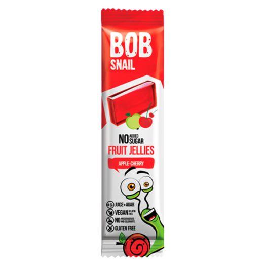 Мармелад Bob Snail яблуко-вишня натуральний 38г - FreshMart