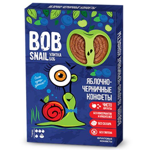 Конфеты Bob Snail яблочно-черничные натуральные 60г - FreshMart