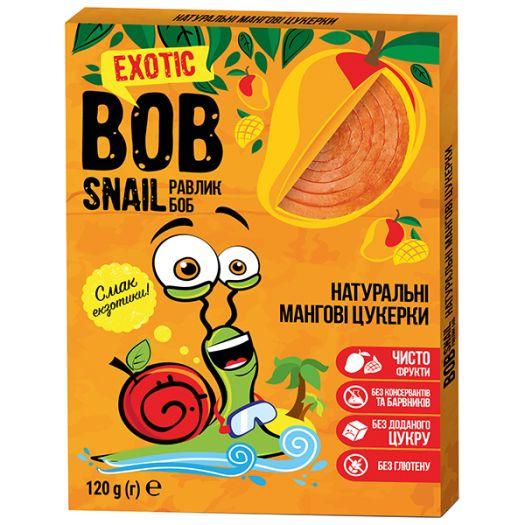 Конфеты Bob Snail манговые натуральные 120г - FreshMart