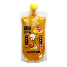 Пюре манговое натуральное Bob Snail 400г - FreshMart