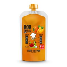 Пюре з хурми натуральне Bob Snail 400г - FreshMart