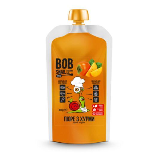 Пюре из хурмы натуральное Bob Snail 400г - FreshMart