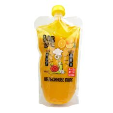 Пюре Bob Snail апельсинове натуральне 400г - FreshMart