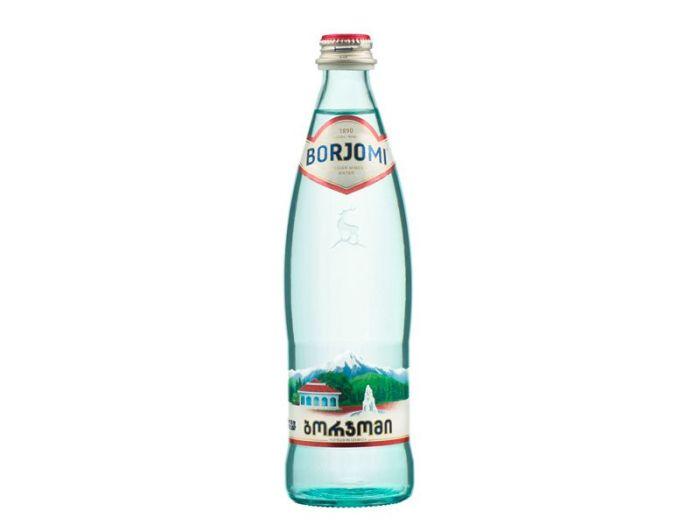 Вода Borjomi сильногазована 330мл - FreshMart